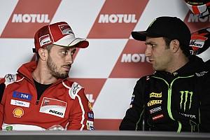 """MotoGP Noticias de última hora Dovizioso: """"Zarco es una realidad y este año aún irá mejor"""""""