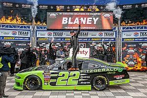 NASCAR XFINITY Race report Ryan Blaney dominates NASCAR Xfinity Series race at Texas