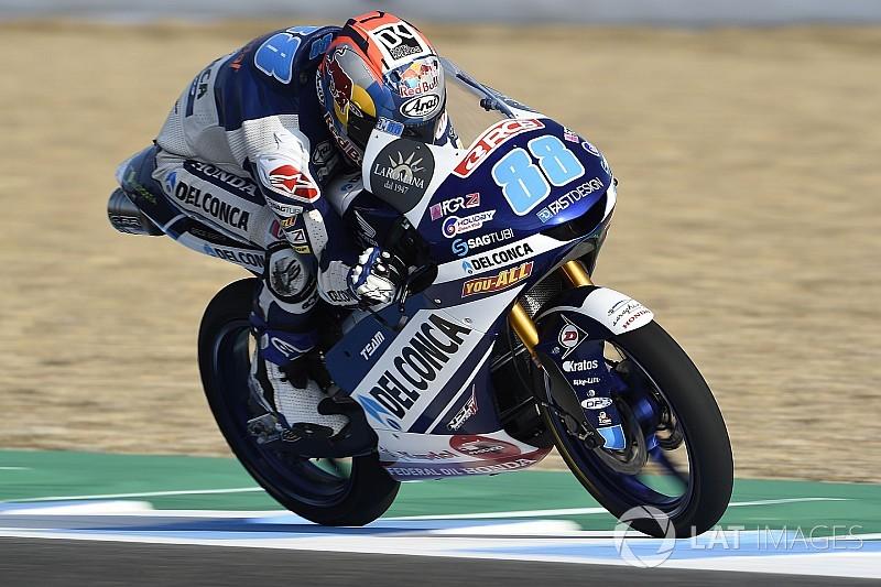 Martín vuela en Jerez y consigue la pole