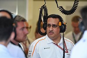 Voorzitter McLaren: