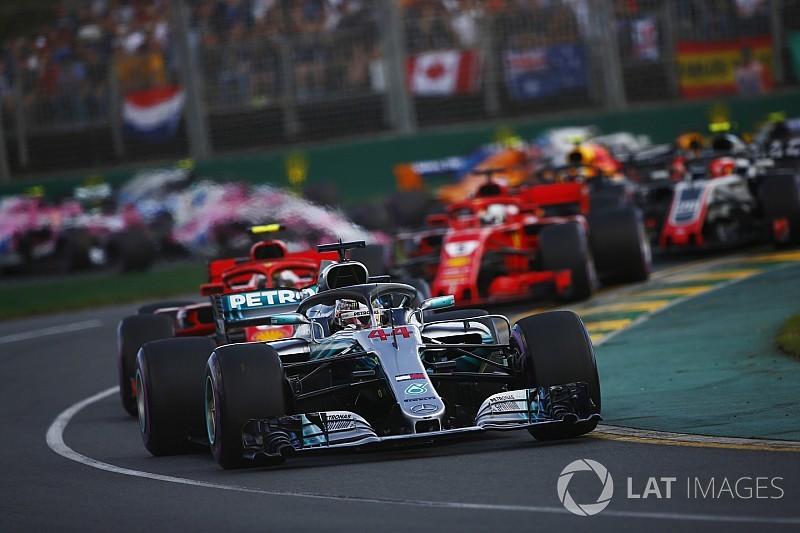 Положение в чемпионате после Гран При Австралии