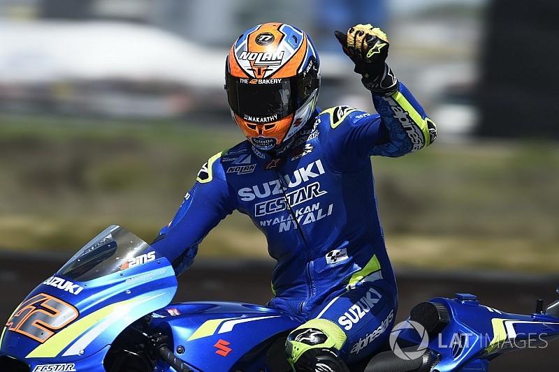 Rins, MotoGP'deki ilk zaferini yakında kazanacağından emin