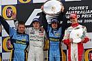 GALERÍA: Todos los podios y victorias de la F1 en Melbourne