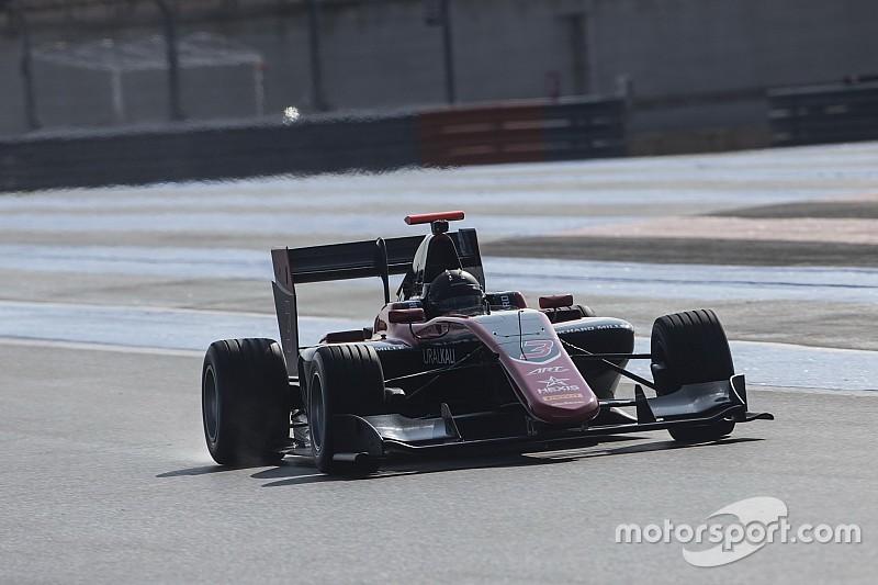 Мазепин показал второй результат на тестах GP3