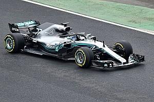 Першу світлину Mercedes W09