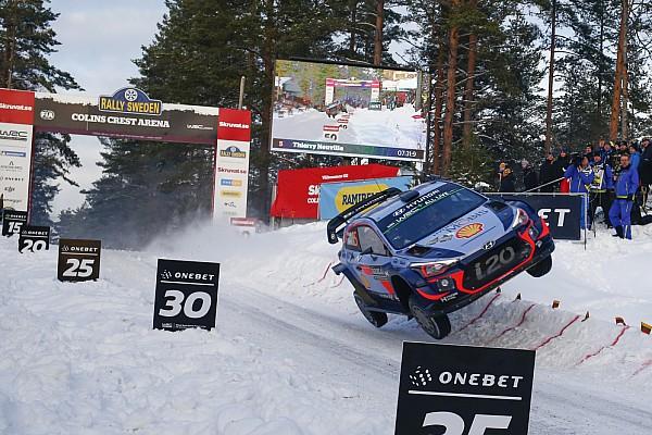 WRC I più cliccati Fotogallery WRC: i salti più spettacolari al Colin's Crest