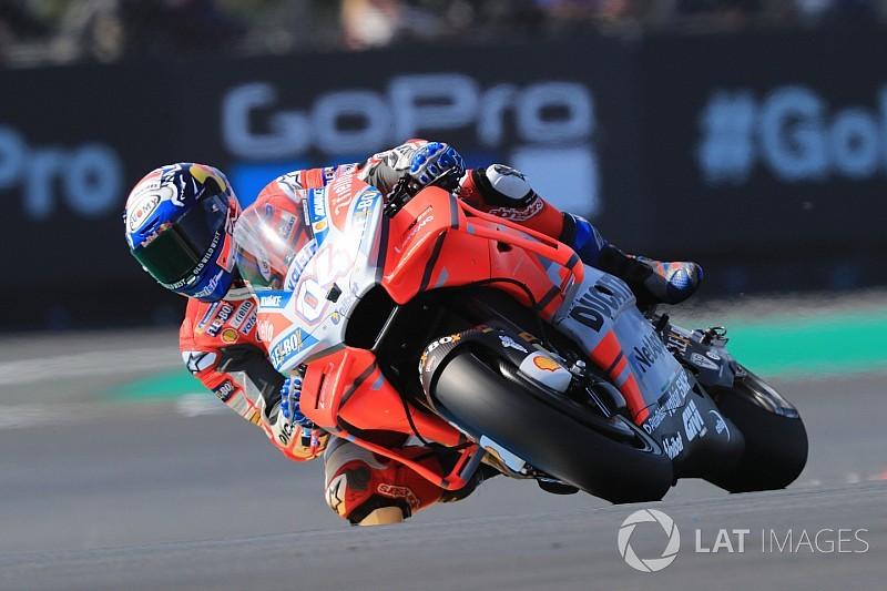 Le Mans, Libere 4: Dovizioso si porta in vetta, cade Valentino