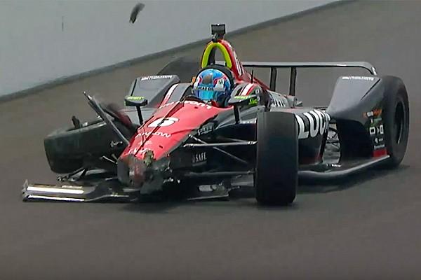 IndyCar Indy 500, Day 7: Karam il più veloce. Incidente per Wickens!