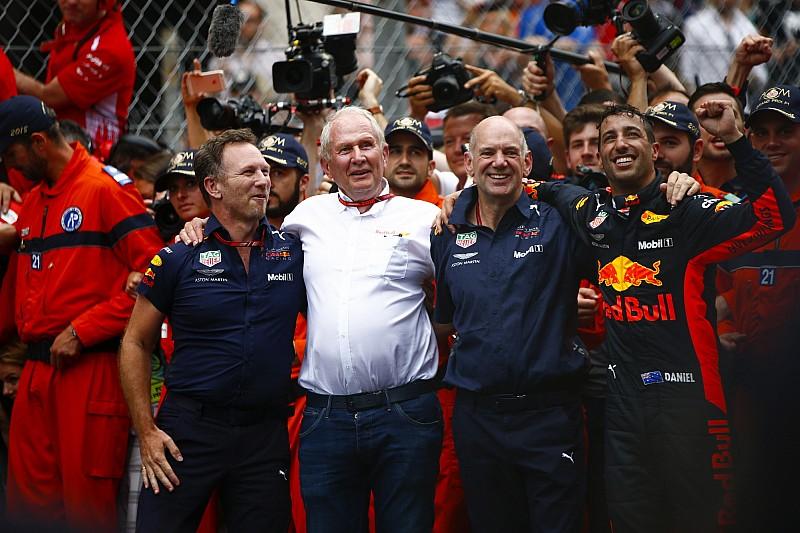 Red Bull no renuncia a las victorias... ni a los títulos con Honda