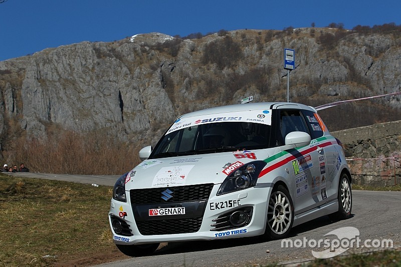 Suzuki Rally Trophy: 14 vetture in gara al Rally di Sanremo