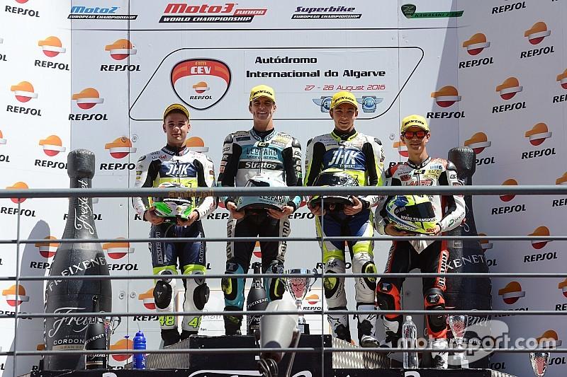 CEV Moto3: Ramirez kalahkan Dalla Porta, Gilang finis ke-12