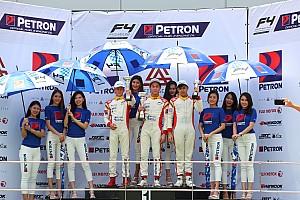 Formula 4 SEA Race report Presley Martono menangi balapan di ronde pamungkas F4 SEA 2017-18