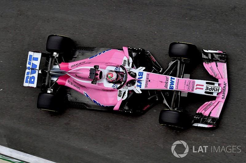"""Atrás de Ocon, Perez diz: """"posição de grid pouco importa"""""""