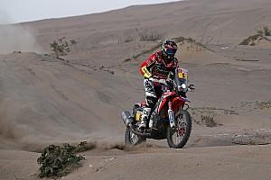 Dakar Rapport d'étape Motos, étape 7 - La bonne affaire pour Barreda et Van Beveren