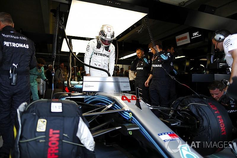 Hamilton ve a la F1