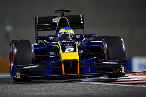 FIA F2 Новость Роуленд выиграл первую гонку Ф2 в Абу-Даби, Маркелов второй
