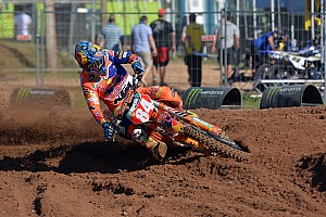 Mondiale Cross MxGP Qualifiche Jeffrey Herlings domina le qualifiche della MXGP in Lettonia