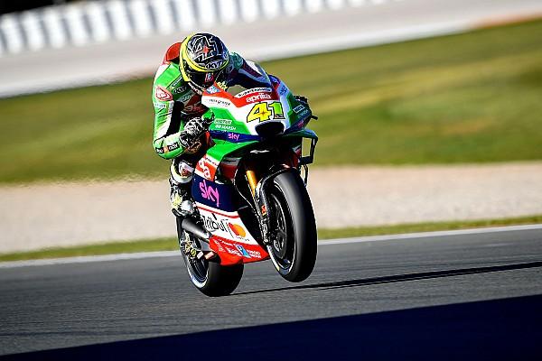 Aprilia отложила дебют нового мотора до первой гонки сезона