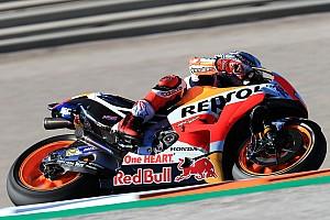MotoGP Reporte de pruebas Márquez vuela en Valencia y le saca más de un segundo a Dovizioso