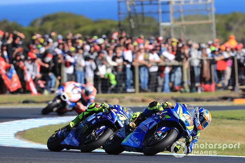 Rins admits race was