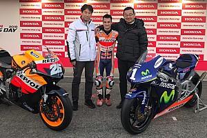 En su despedida, Honda le hace a Pedrosa un regalo muy especial