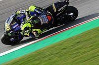 De retour en première ligne, Rossi se félicite de son rythme de course