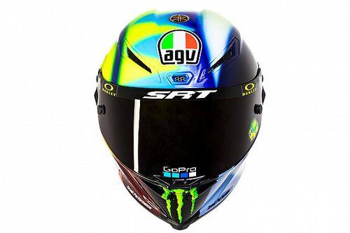 Valentino Rossi rinnova la livrea del casco per il 2021