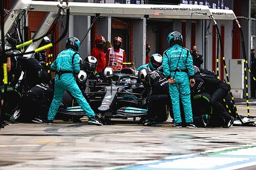 Mercedes doorbreekt op Imola reeks snelste pitstops Red Bull