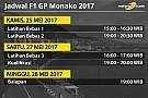 Jadwal lengkap F1 GP Monako 2017
