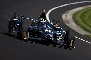 IndyCar Репортаж з практики Інді-500: Карпентер очолив протокол 3-го тренування, Алонсо став 4-м