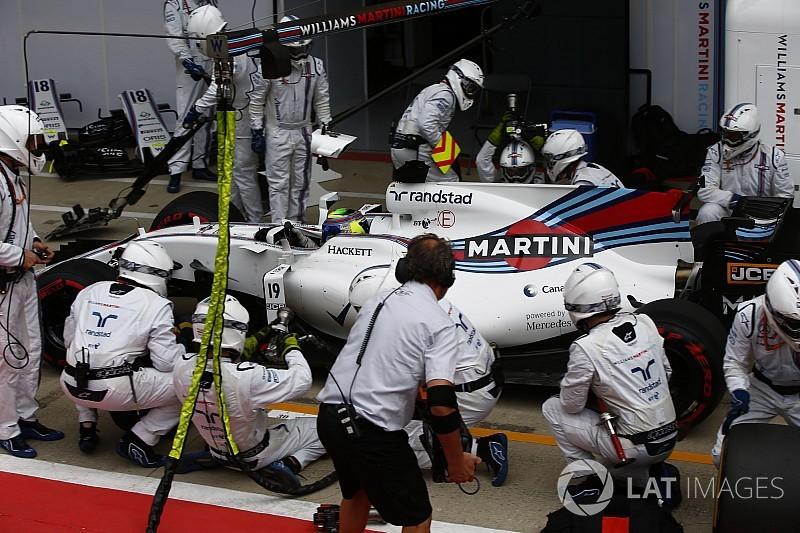 Williams, Britanya'da bu yılın pit stop rekorunu kırdı