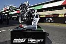 Moto2 10 giorni di test nel 2018 per familiarizzare con il motore Triumph