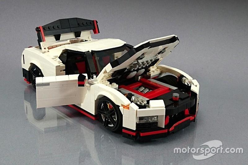Así sería el GT-R Nismo de Lego