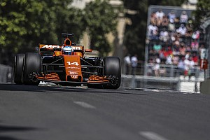 Alonso says McLaren should have won in Baku