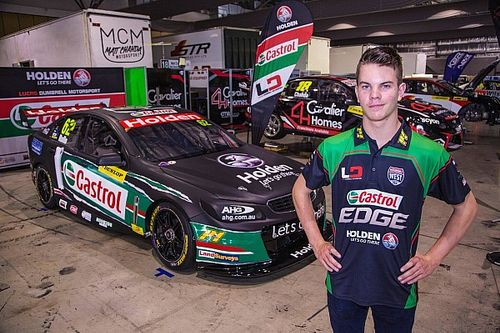 Alex Rullo to become youngest ever Supercars driver