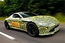 Vídeo: Max Verstappen probó el nuevo Aston Martin Vantage