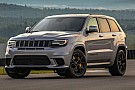 Automotive Primera prueba del Jeep Grand Cherokee Trackhawk 2018