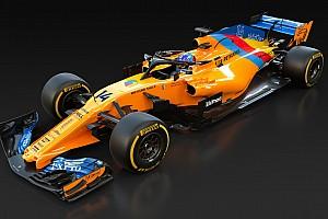 McLaren cambia la decoración de su coche para despedir a Fernando Alonso