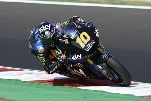 Moto2 - Emilia Romagna: Marini machaca el récord de Misano y se anota la pole; Vierge, 3º