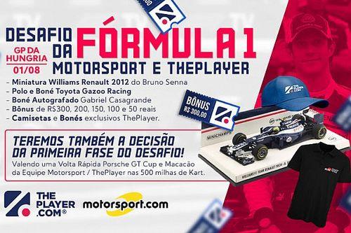 Fantasy ThePlayer abre GP da Hungria, dá miniatura de carro de Senna e fecha primeira parte da temporada com prêmios especiais