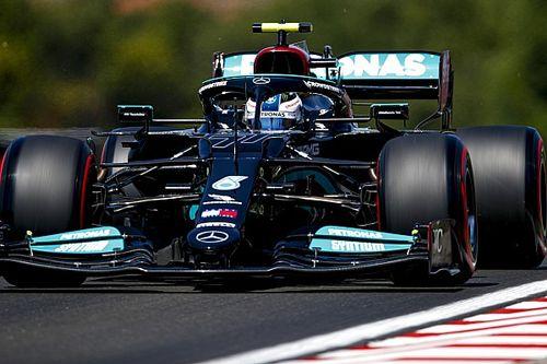 Боттас быстрее всех в FP2 в Венгрии, у Red Bull несет морду