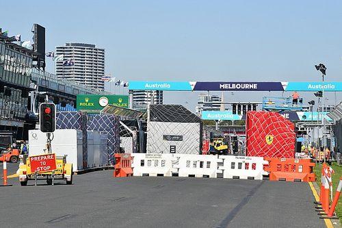 معرض صور: تحضيرات فرق الفورمولا واحد في ملبورن
