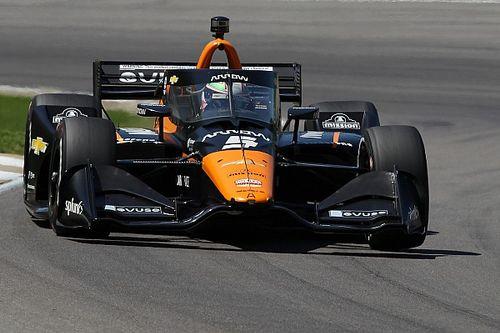 Barber IndyCar: O'Ward beats Rossi to pole