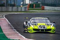 Rossi Uji Coba Ferrari 488 GT3 di Misano