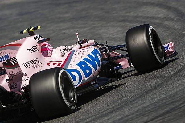 La FIA advierte a Force India sobre sus dorsales