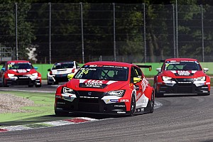 TCR Race report Craft-Bamboo Racing score podium in Monza