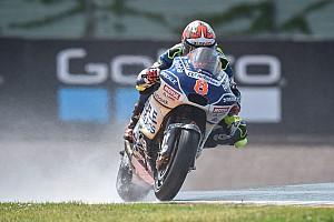 MotoGP Отчет о тренировке Барбера стал лучшим в дождевой тренировке на «Заксенринге»
