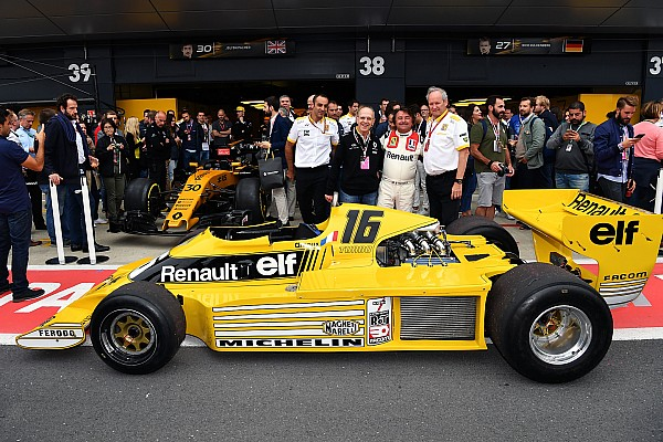 GALERI: Perayaan 40 tahun Renault di F1