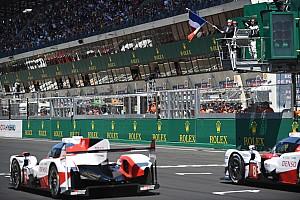 Ле-Ман Репортаж з гонки 24 години Ле-Мана: дві Toyota лідирують після двох годин гонки