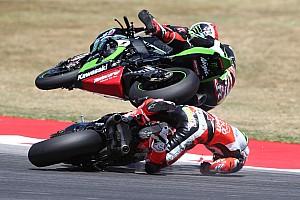 "World Superbike Breaking news Davies ""intent"" on Laguna Seca comeback after crash"